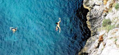 Snorkeling in Salento