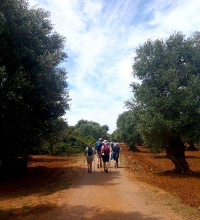 Trekking in gruppo nel bel Salento